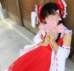 Reimu Hakurei, The Touhou Project-cosplay by mirrorflowertw