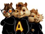 Alvin and the Hallowmunks by FireFoxOmicron
