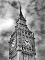 Dramatic Big Ben by Roxikf