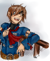 SoA: Vyse by SilverRacoon