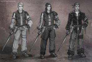 Swashbuckler Concepts by Taylor-payton