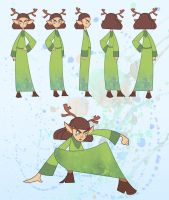 Secret of Kells character design by Endless-Ness