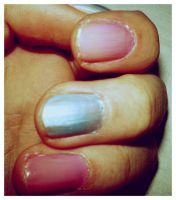my nails painted by The-M-Flash