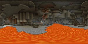 Minecraft cave 360 by wasted49