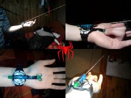 Prototype Spiderman web-shooter by DorianG26