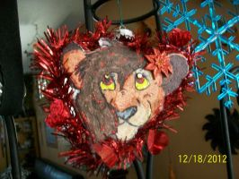Lanie Ornament for LanieJ by Wolf-Chalk