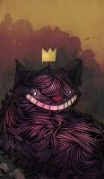 Cheshire Cat by SandroRybak
