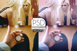 PSD Coloring 028 by vesaspring