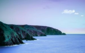 The Coast Of Wales 3 by welshdragon