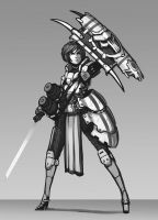 Shield Bearer by Brobossa