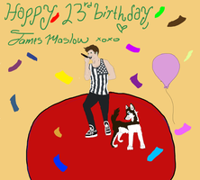 Happy 23 BirthdayJames by WolfArt-Rusher