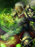 Diablo 3 Fan Art Contest: Girrim the Blind Wizard by daysoframpage