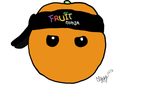 Fruit Ninja - Orange by Jesusasaurus