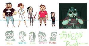 The Duncan Family by DrewGreen