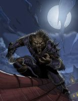 WoW Lycan race by strngbroda
