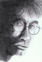 Harry Potter graphite pencils by TussenSessan