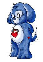 Loyal Heart Dog by xkappax