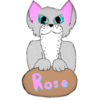 Rose Badge by AwesomePaw