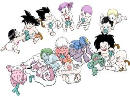 Baby Warriors by DDragonBall