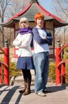 Saber and Shirou by thatbloodypirate