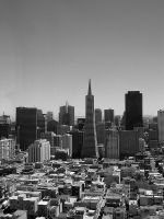 San Francisco Cityscape by ChiRho