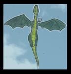 Xzyrandom: Dragon Flying by zxcvsaw
