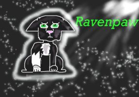 Raven paw From warrior Cats by Saira-Dragon
