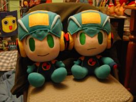 Rockman Twins by ayabrea