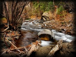 American Fork River November by houstonryan