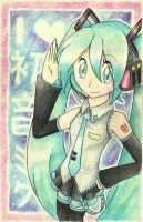 I Heart Hatsune Miku by SpinkellaSapphire