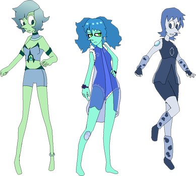 The Blue Pearls by Foremem