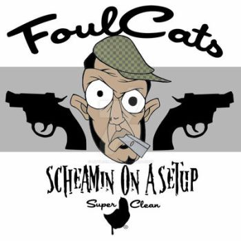 Foul Cats by Super clean by LittleEmpires