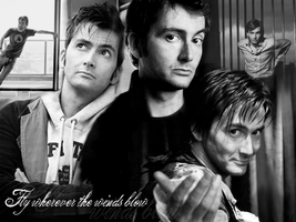 David Tennant wallpaper. by CrystalSister