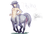 Centaur Riku by Pon3Splash