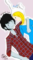 Fionna x Marshall Lee - Adventure Time by PrimsoneClementine