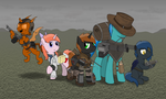 The Crew of Red Sands by BruinsBrony216