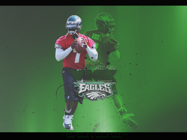 Michael Vick Wallpaper by KevinsGraphics