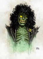 Evil Ernie By Andrew Robinson Color by SpicerColor