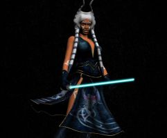 Ahsoka Battle Pose by Ukiandre