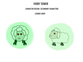 ivory tower cloned sheep by stranger-than-me