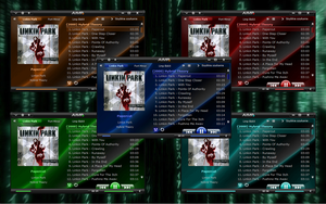 Glass v1.0 Skin for Aimp2 by walker13150