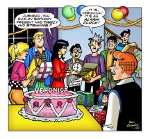 Archie and Friends Dan Decarlo Art Digital Colors by jovigolf