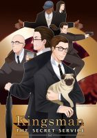 Kingsman: The Secret Service by PencilCrown