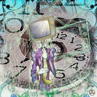 Mr Broadcast twisted in time by Klyde-Chroma
