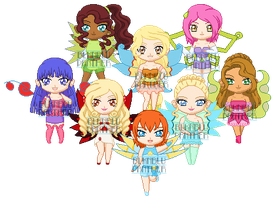 ChibiP: Winx Next-Gen by blknblupanther