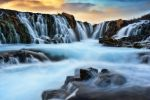 Bruarfoss by Michaelthien
