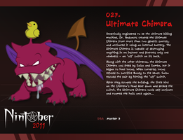 Nintober 027. Ultimate Chimera by fryguy64