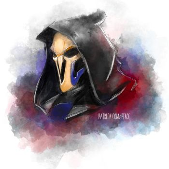Reaper (Brush Experiment) by Herr-Pekoe