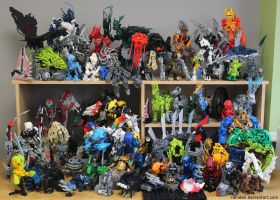 Bionicle MOCs - December 2014 by Rahiden