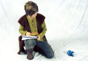 Youmacon 2010: Hiccup Drawing by blondewolf2